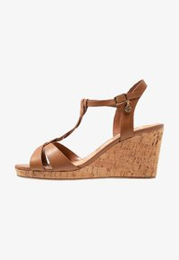 Dune London WIDE FIT - WIDE FIT KOALA - Platform sandals - tan - 1