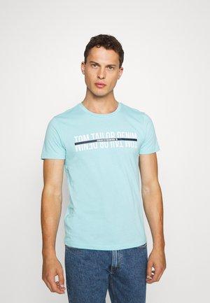 T-shirt z nadrukiem - sky blue