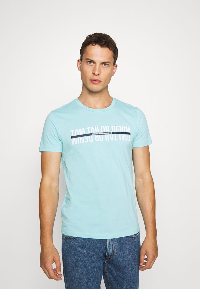 Camiseta estampada - sky blue