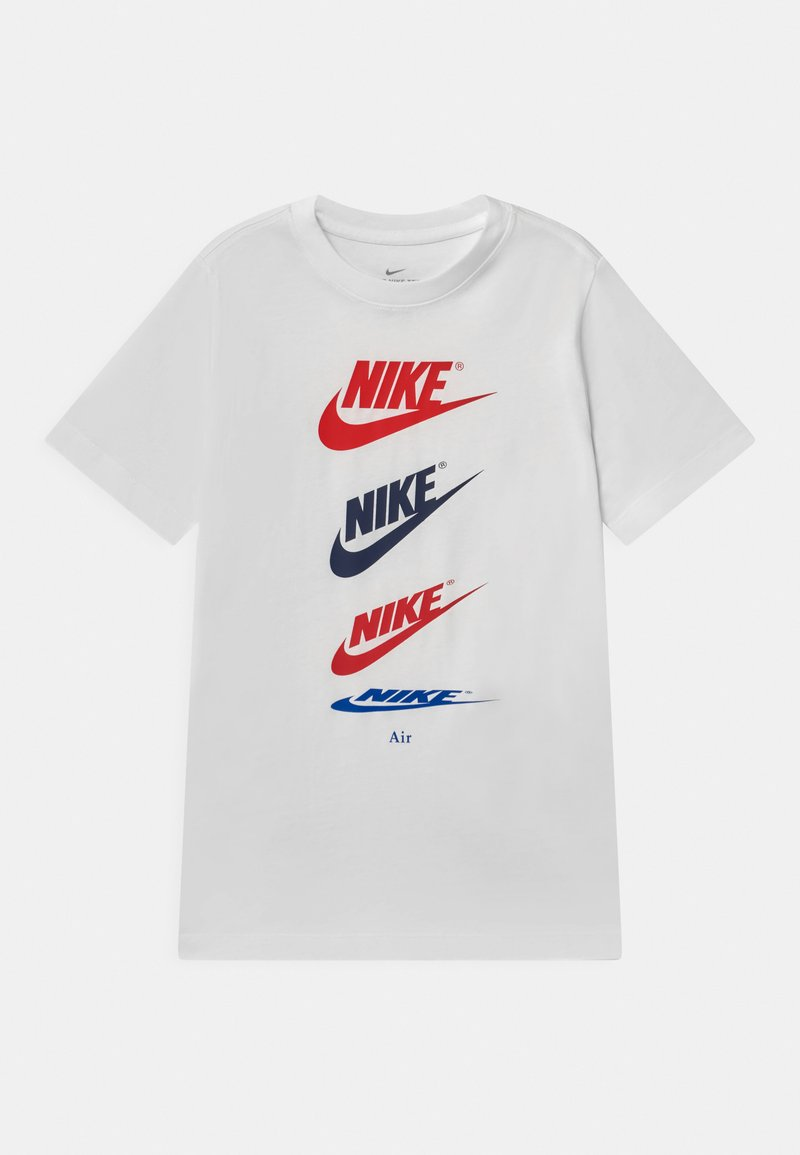 Nike Sportswear - FUTURA REPEAT - Camiseta estampada - white