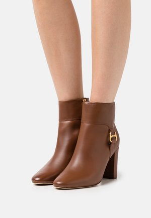 MCKAY BOOTIE - Ankle boots - deep saddle tan