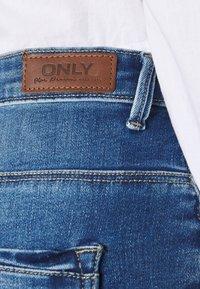 ONLY - ONLPAOLA LIFE - Denim shorts - blue denim - 5