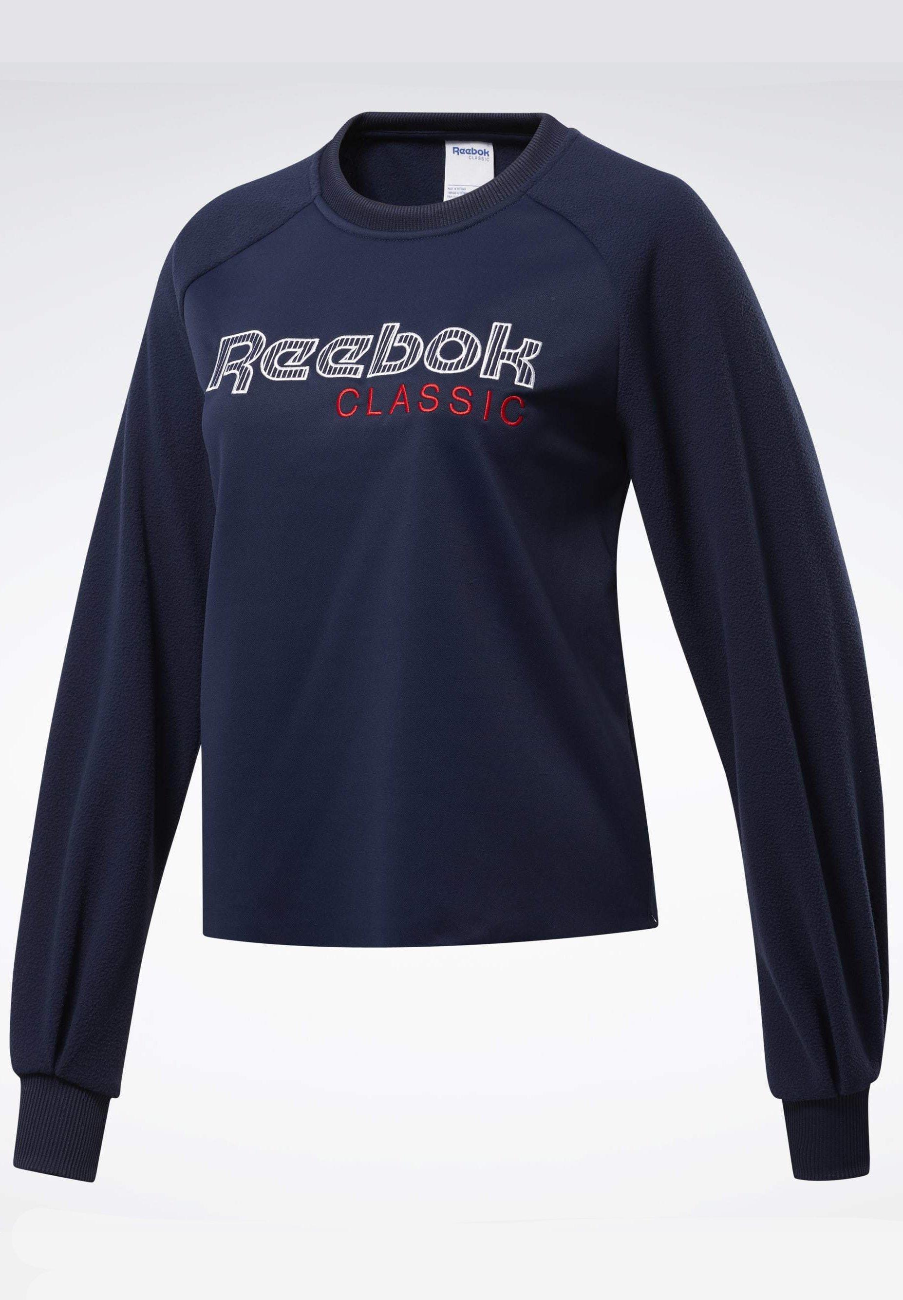 Reebok Classics bright blue logo sweatshirt | Sweatshirts