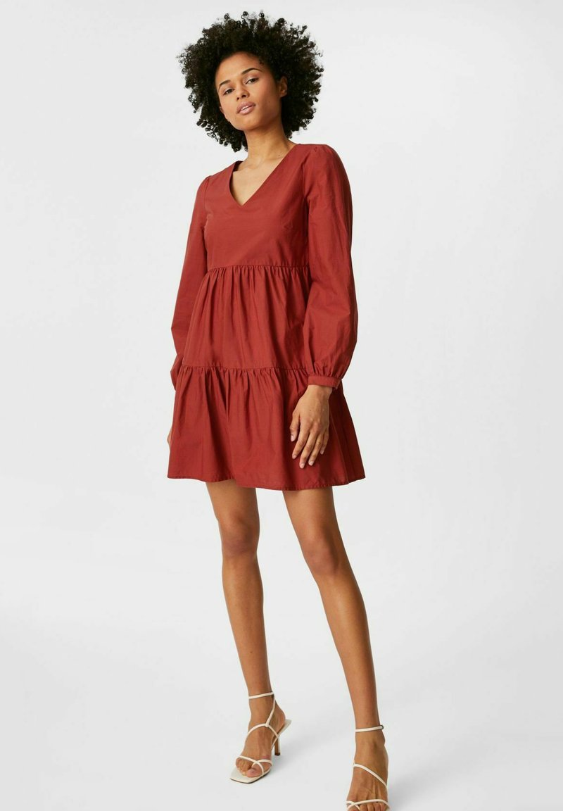 C&A - Day dress - brown