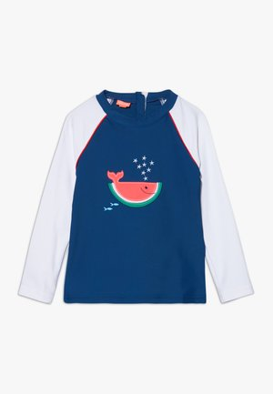 WATERMELON WHALE RASH  - T-shirt de surf - navy