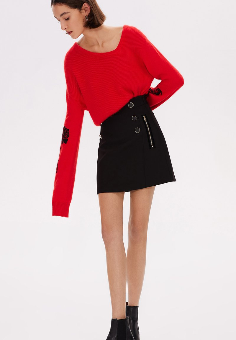 LILY - Jersey de punto - red
