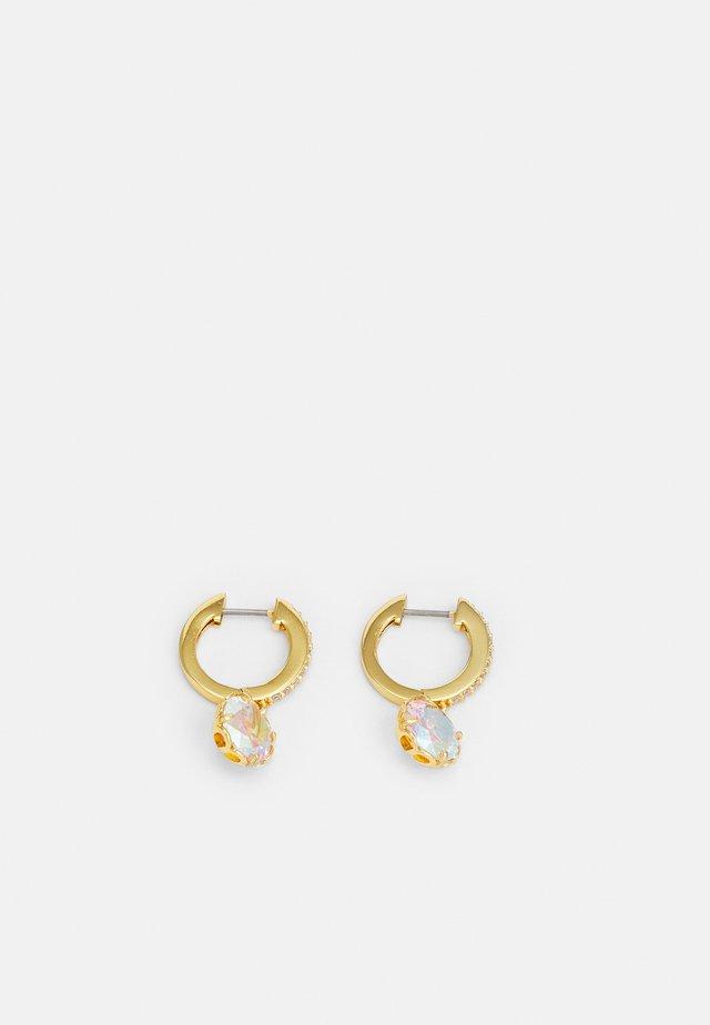 PAVE HUGGIES - Oorbellen - gold-coloured