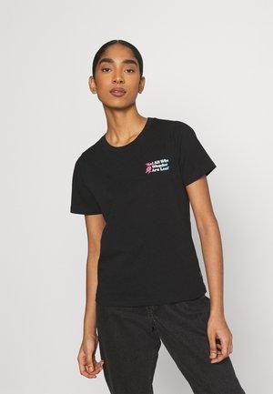 EXPLORATION TEAM GRAPHIC TEE - Print T-shirt - black