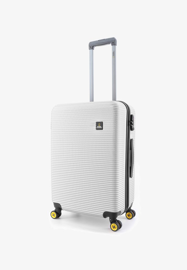 Wheeled suitcase - silber