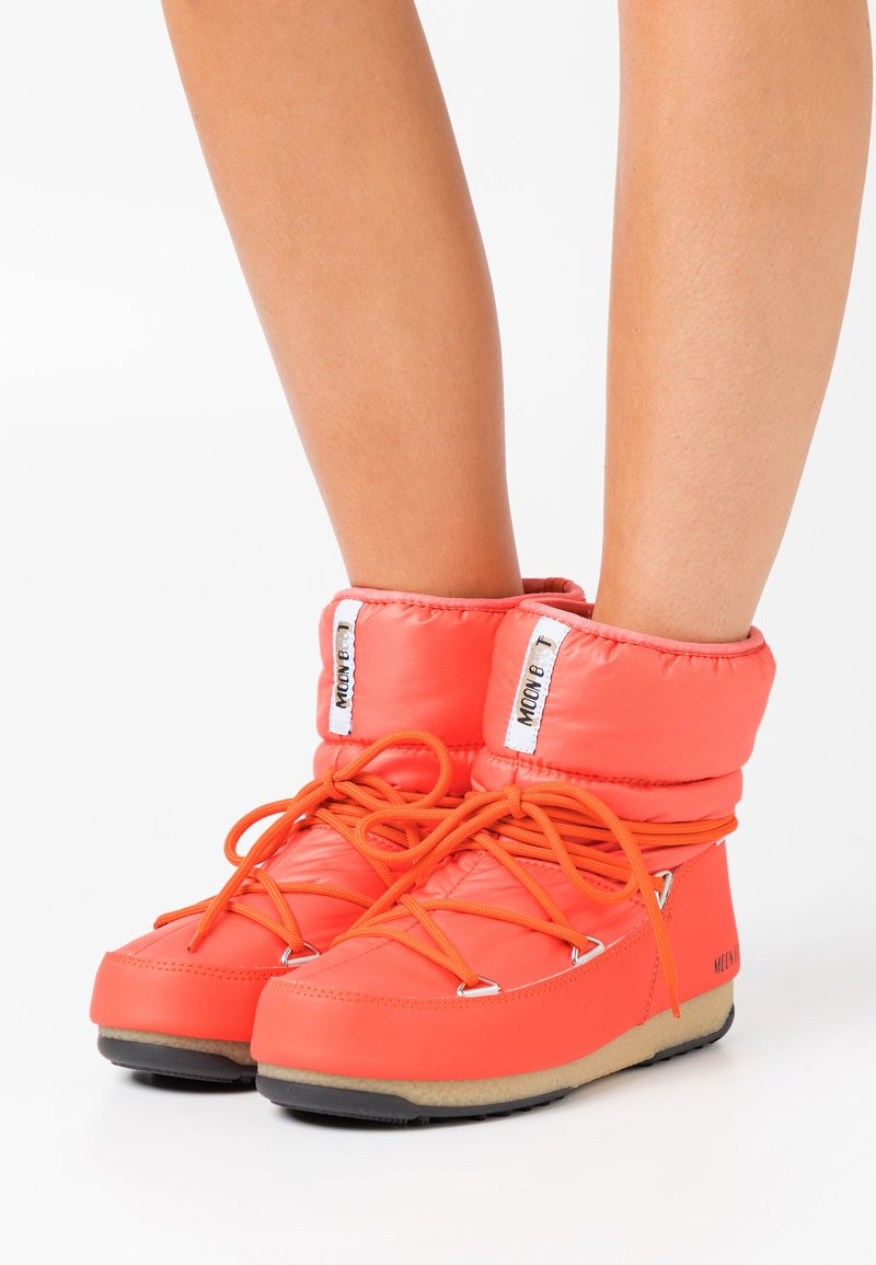 Moon Boot - LOW  WP - Winter boots - coral