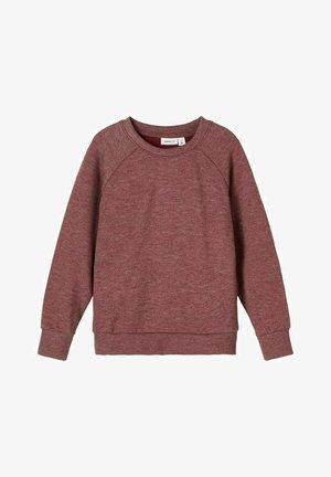 Sweatshirt - marron