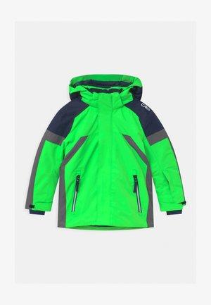 BOY SNAPS HOOD - Ski jacket - verde fluo