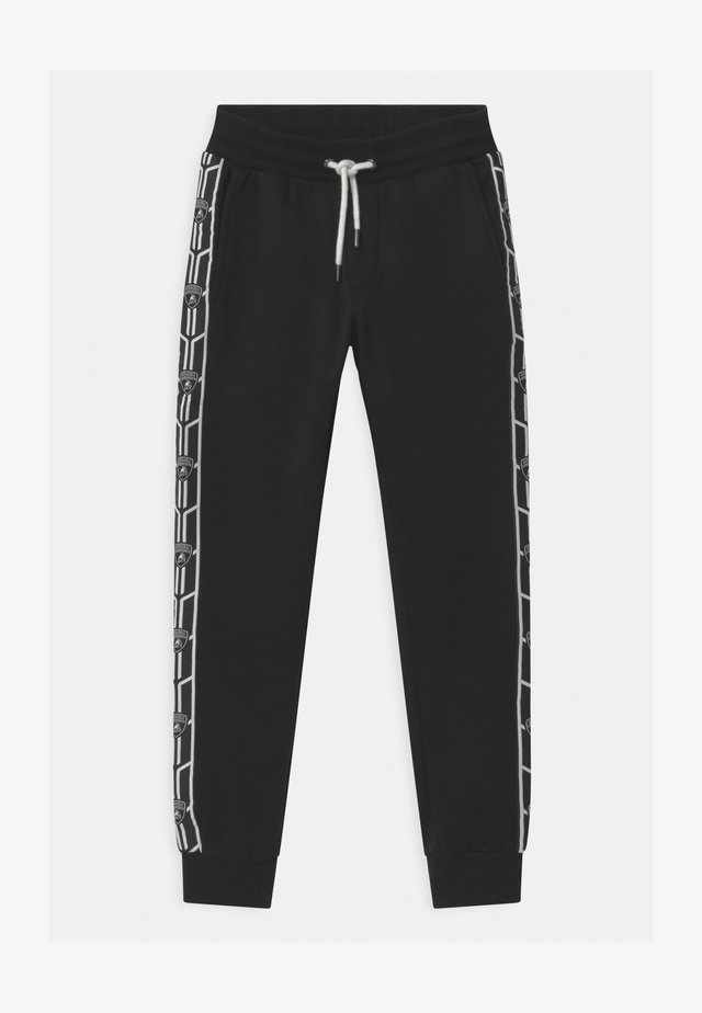 SHIELD TAPE - Tracksuit bottoms - black pegaso