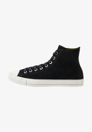 CHUCK TAYLOR ALL STAR SHOOTING STAR - Korkeavartiset tennarit - black/pale putty/papyrus