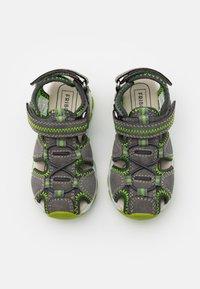 Friboo - LEATHER - Walking sandals - dark grey - 3