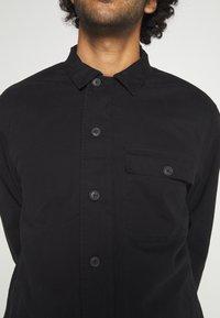 AllSaints - DECK OVERSHIRT - Shirt - jet black - 5