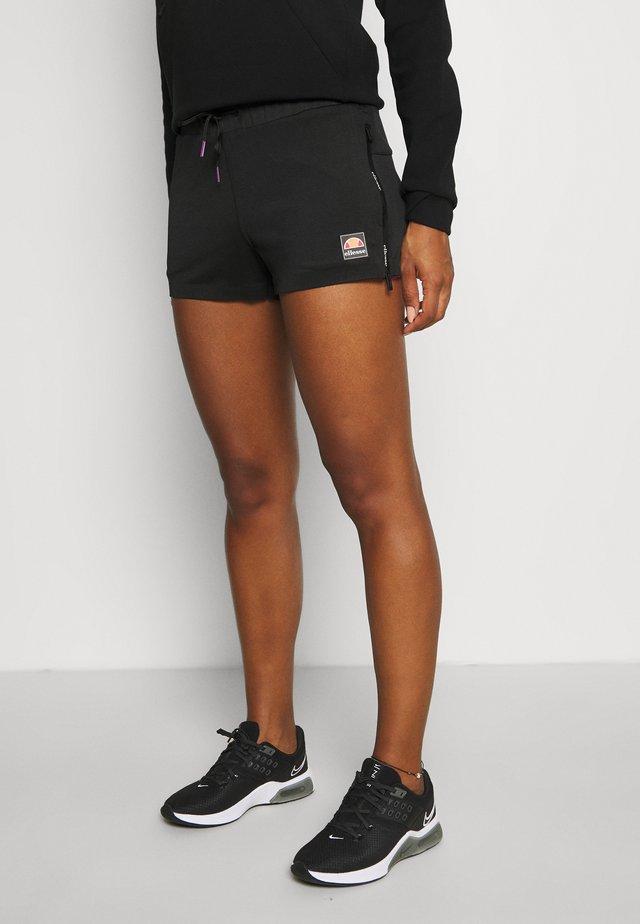 VENO SHORT - Korte broeken - black