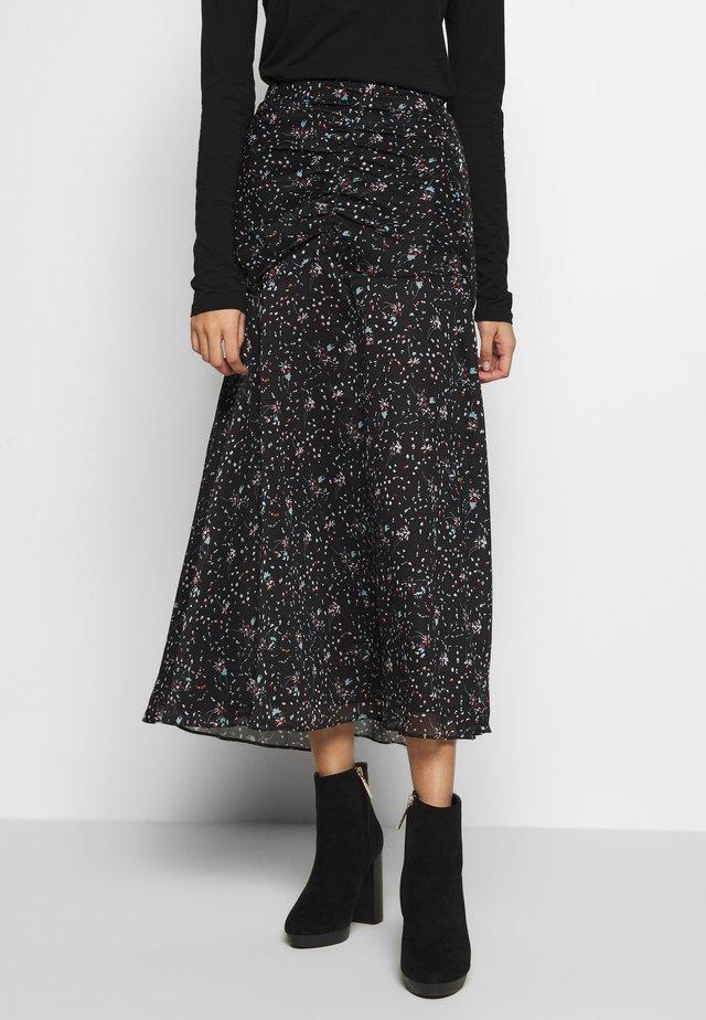 CORA MIDI SKIRT - A-line skirt - dark blue
