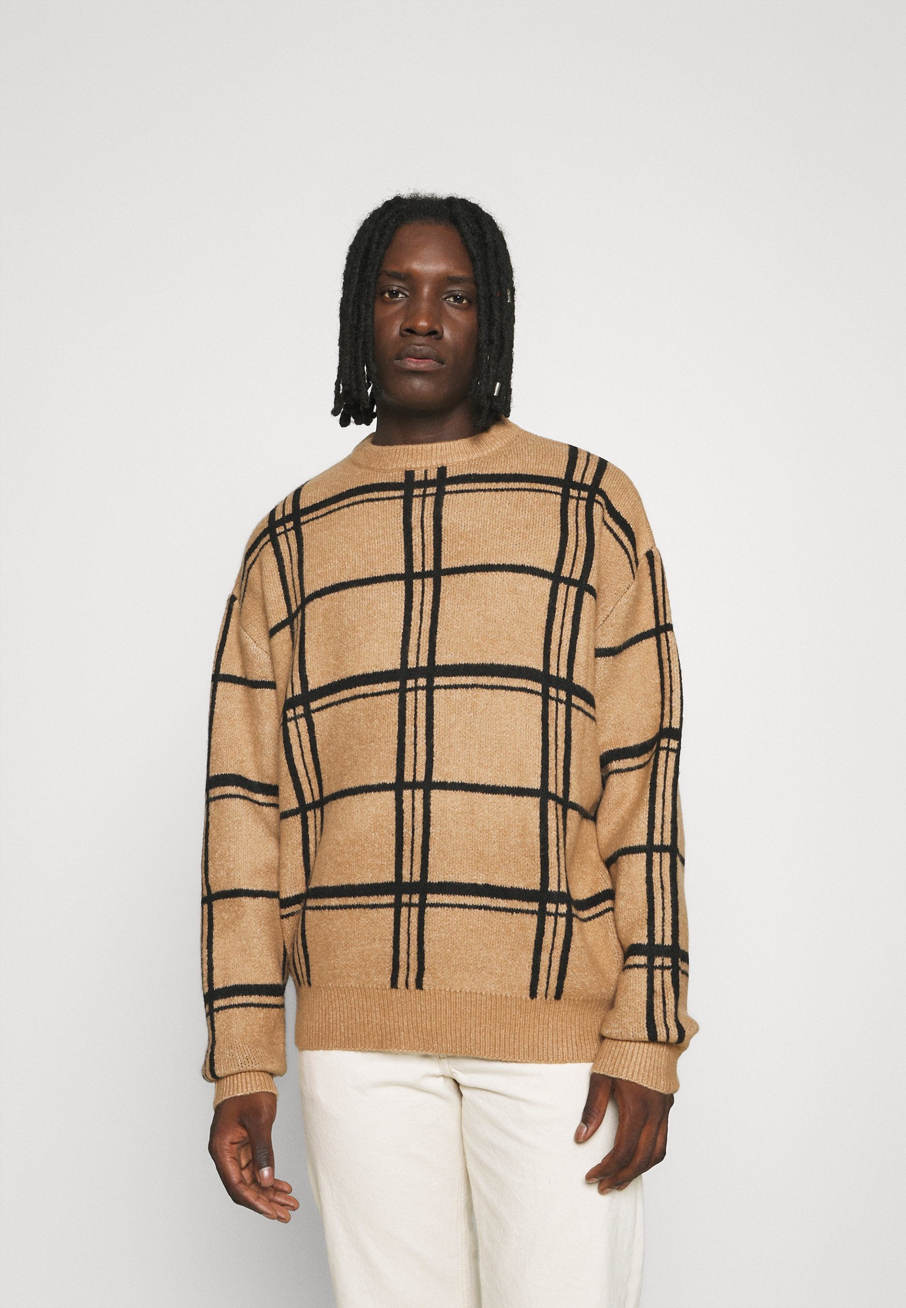 Homme HENNESSEY GRID CHECK - Pullover
