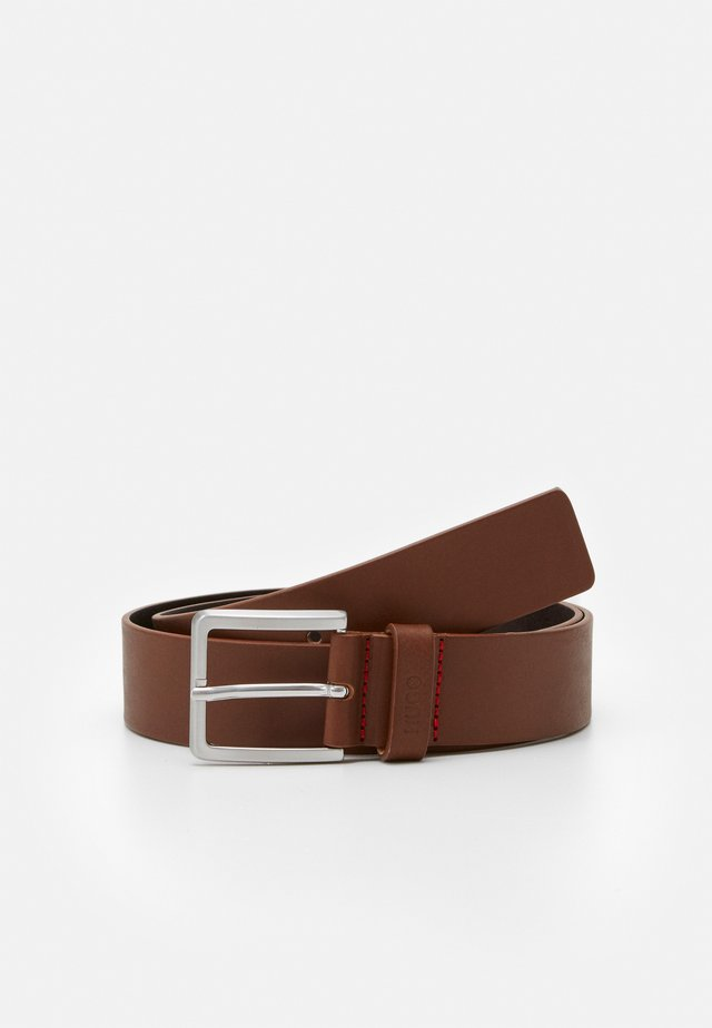 GIONIOS - Pásek - medium brown