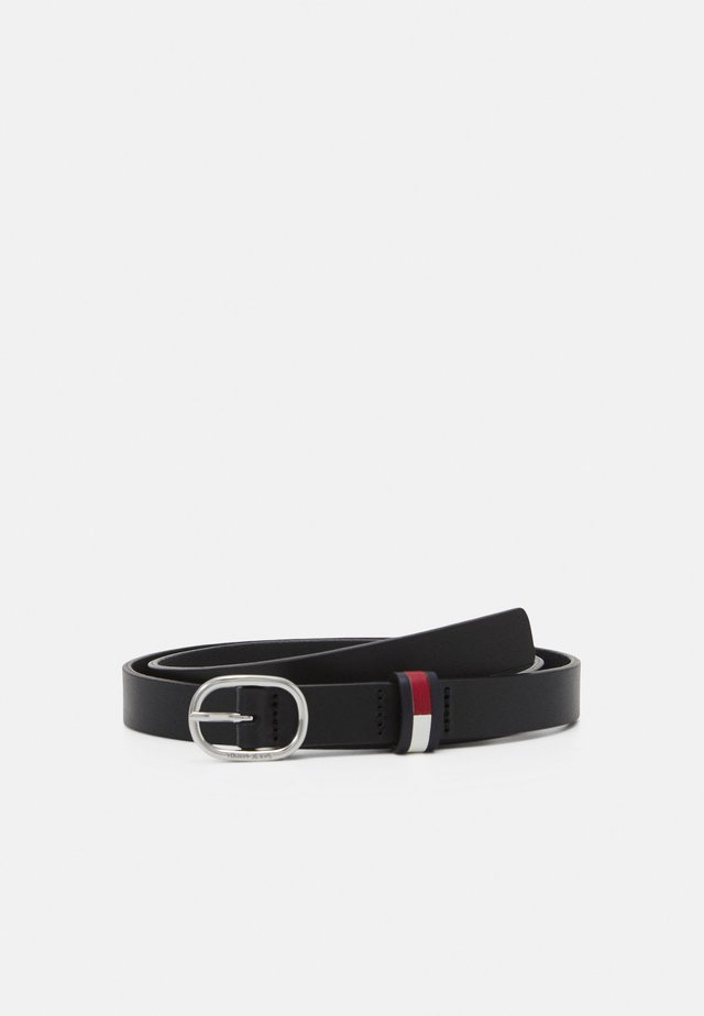 CASUAL OVAL BELT - Cintura - black