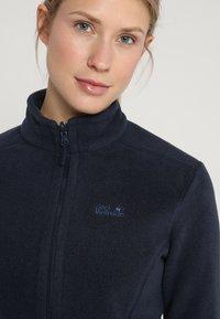 Jack Wolfskin - MOONRISE - Fleece jacket - midnight blue - 5