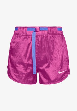 Sports shorts - fire pink/sapphire/white