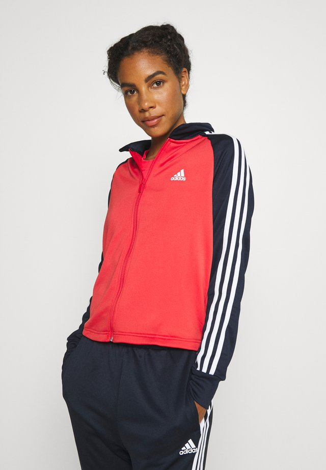 GAMETIME - Tracksuit - glow red/leg ink