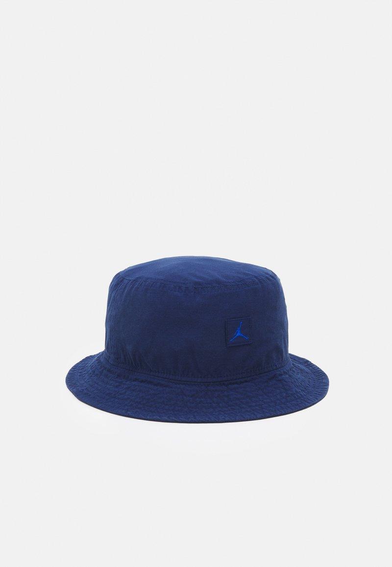 Jordan - BUCKET WASHED UNISEX - Beanie - blue void