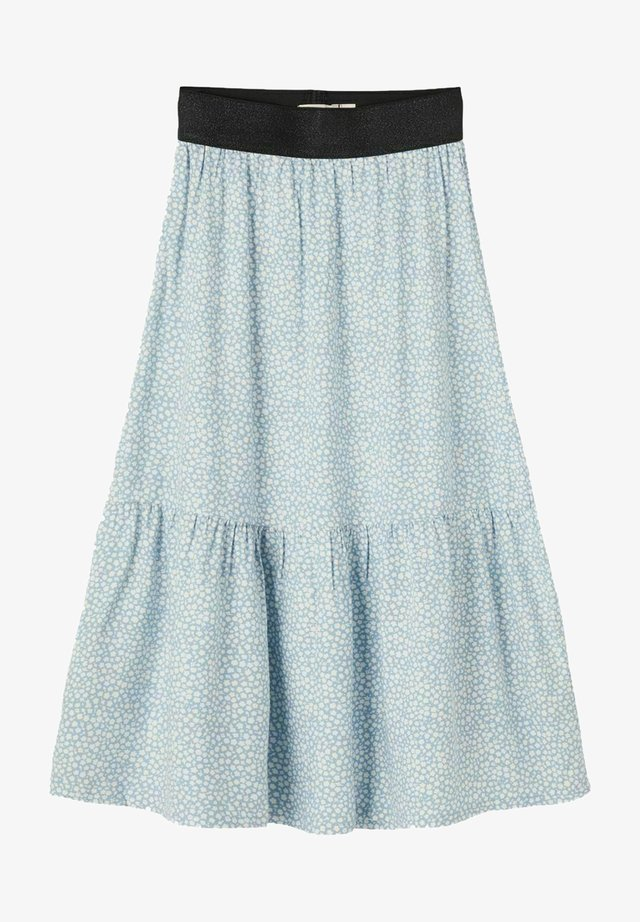 Veckad kjol - dusty blue