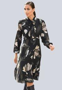 Alba Moda - Day dress - schwarz/creme-weiß - 0