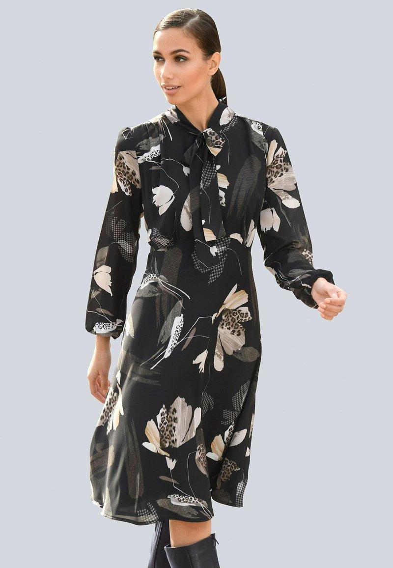 Alba Moda - Day dress - schwarz/creme-weiß