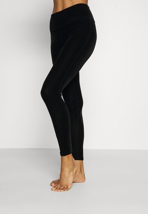 Legging - black velvet
