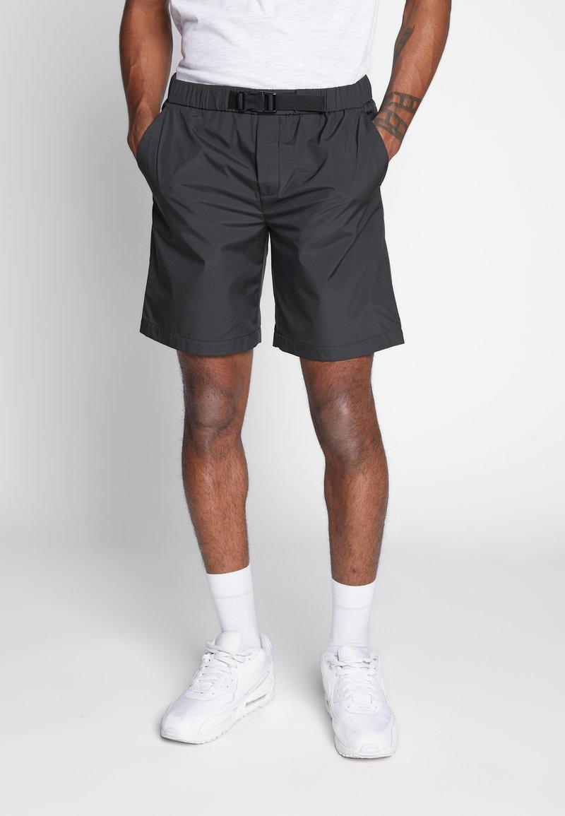 Mennace - GROSSGRAIN BELTED PULL ON - Shorts - khaki