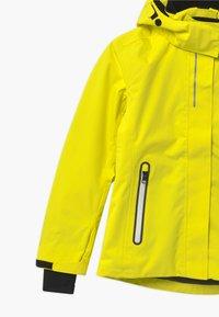 Reima - WINTER FROST UNISEX - Laskettelutakki - lemon yellow - 5