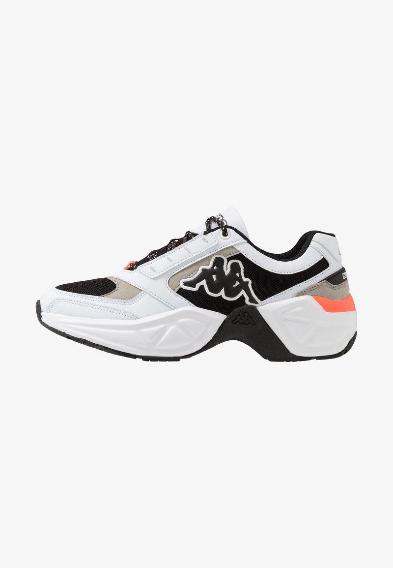 Kappa - KRYPTON - Sports shoes - white/black