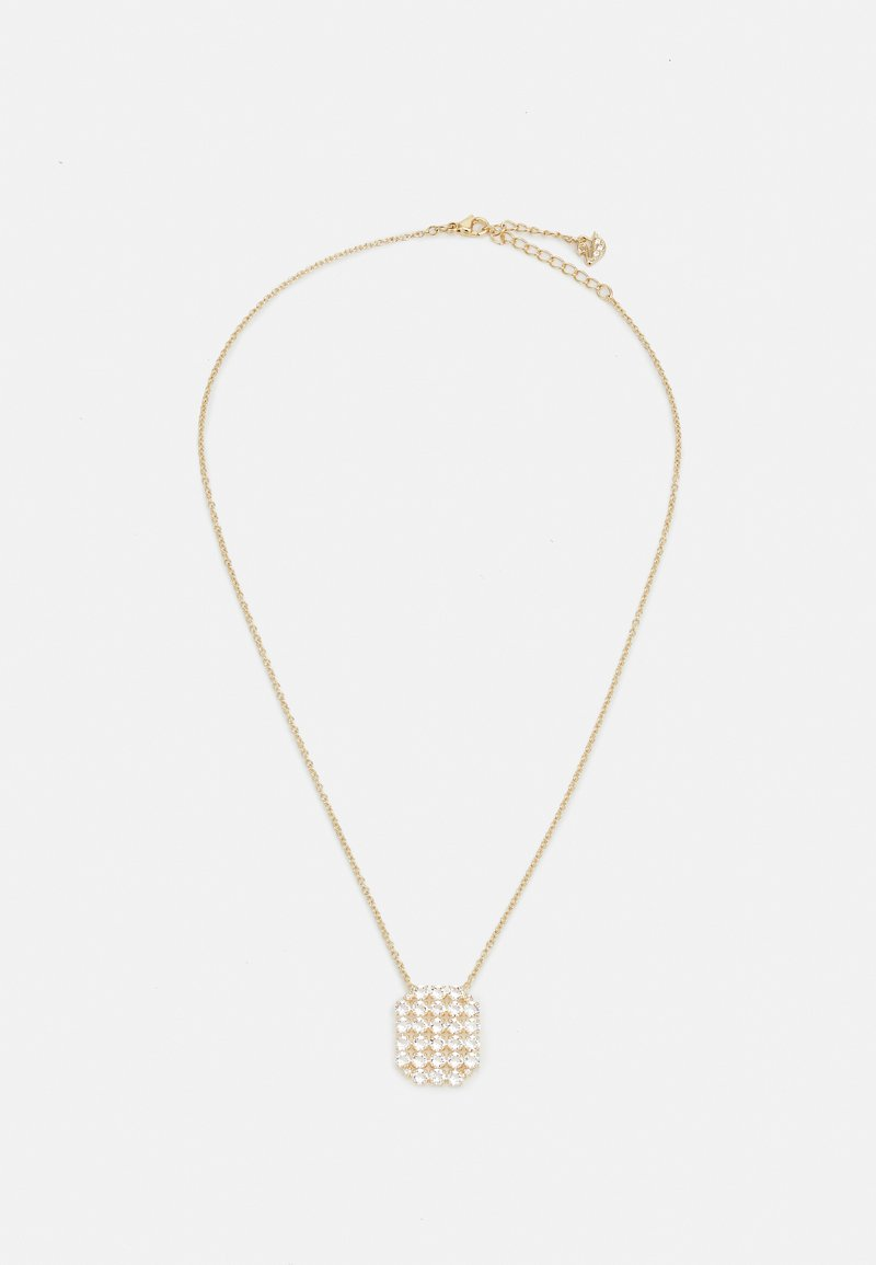 Swarovski - EXALTA NECKLACE - Necklace - gold-coloured/white
