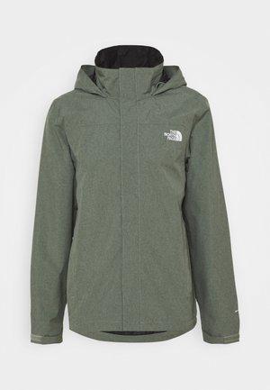 SANGRO JACKET - Hardshell jacket - mottled green