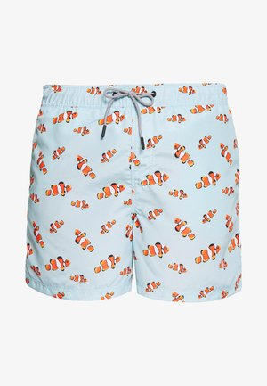 JJIARUBA JJSWIMSHORTS - Swimming shorts - aruba blue