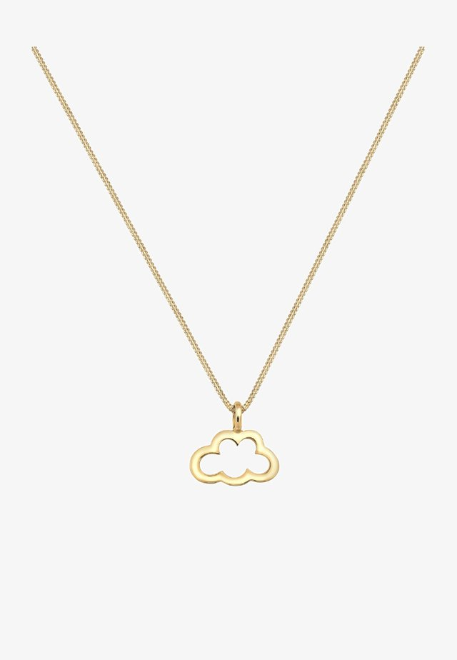 WOLKE - Collier - gold-coloured