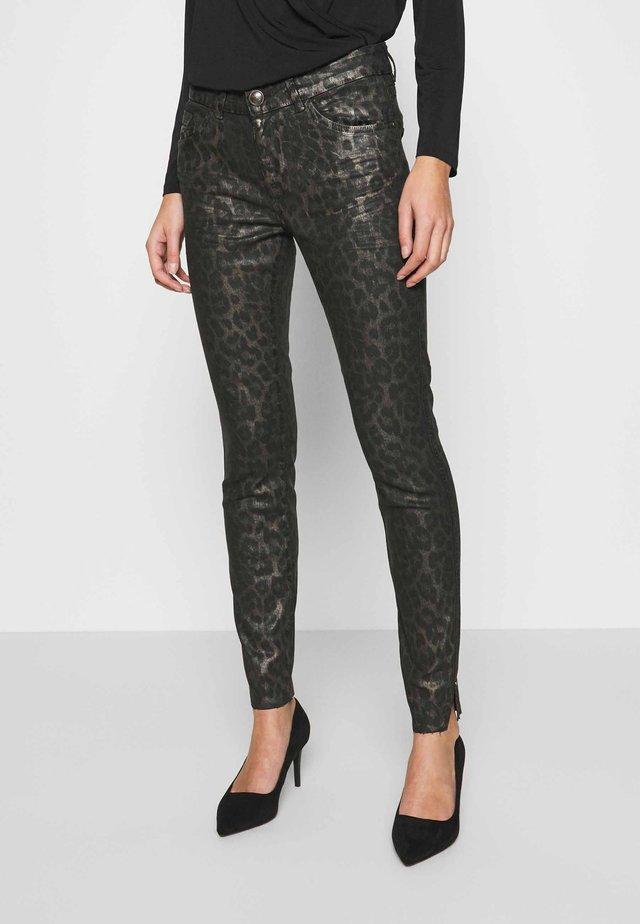 SUMNER ANIMAL COATED  - Jeans Skinny Fit - gold