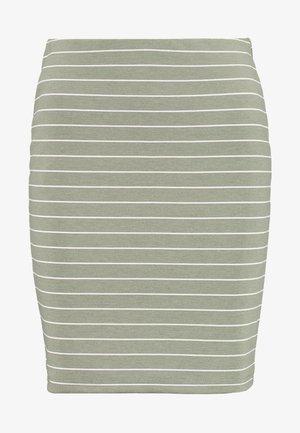 BYRIZETTA SKIRT - Mini skirt - sea green