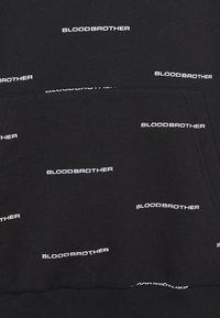 Blood Brother - CUMBERLAND HOOD - Mikina - black - 2