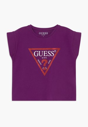 JUNIOR CROPPED CORE - T-shirt con stampa - new plum light
