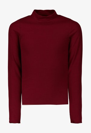 Long sleeved top - cabernet