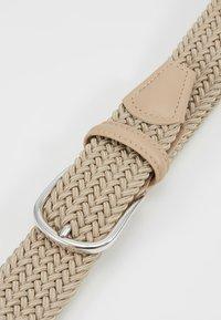 Anderson's - STRECH BELT UNISEX - Pletený pásek - sand - 5