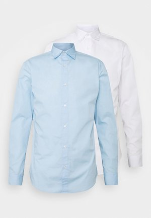 JJJOE 2 PACK - Shirt - cashmere blue/white
