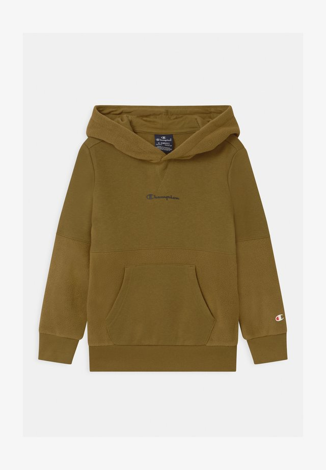 CHAMPION X ZALANDO HOODED UNISEX - Sweatshirt - khaki