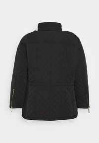 MICHAEL Michael Kors - QUILTED CINCHED WAIST JACKET - Light jacket - black - 1
