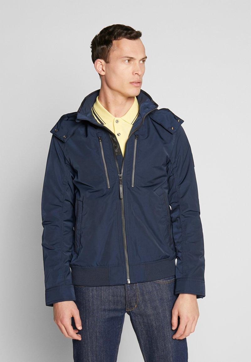 TOM TAILOR - BLOUSON WITH ZIPPERS - Light jacket - sky captain blue